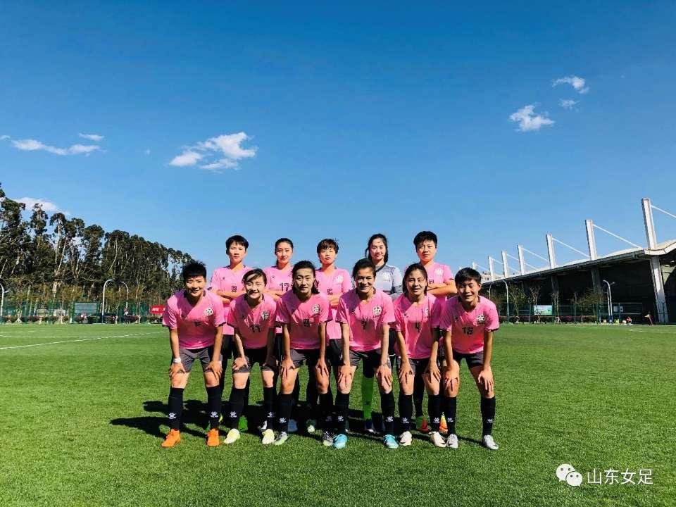 【女锦赛】山东女足3-0完胜东华大学 取得两连胜