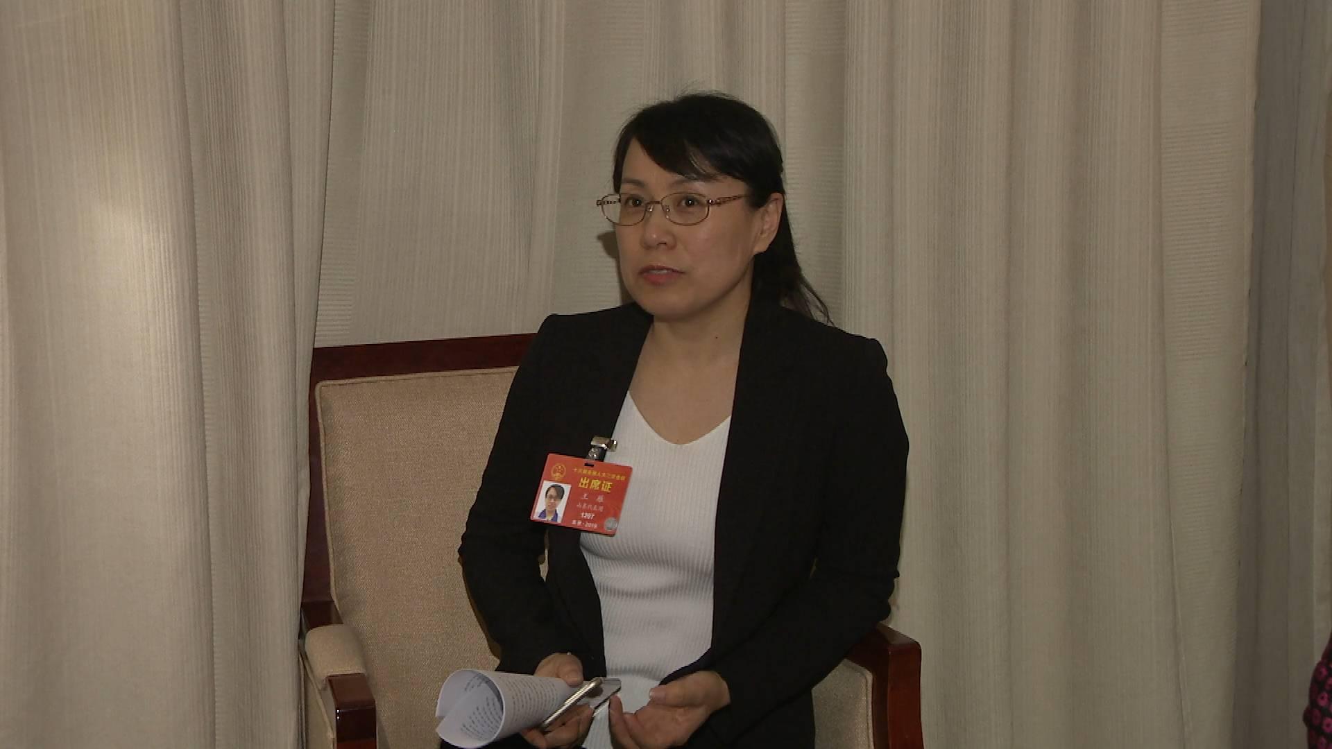 全国人大代表王雁:金融机构可以考虑把小微企业的专利权、技术等作为融资抵押物