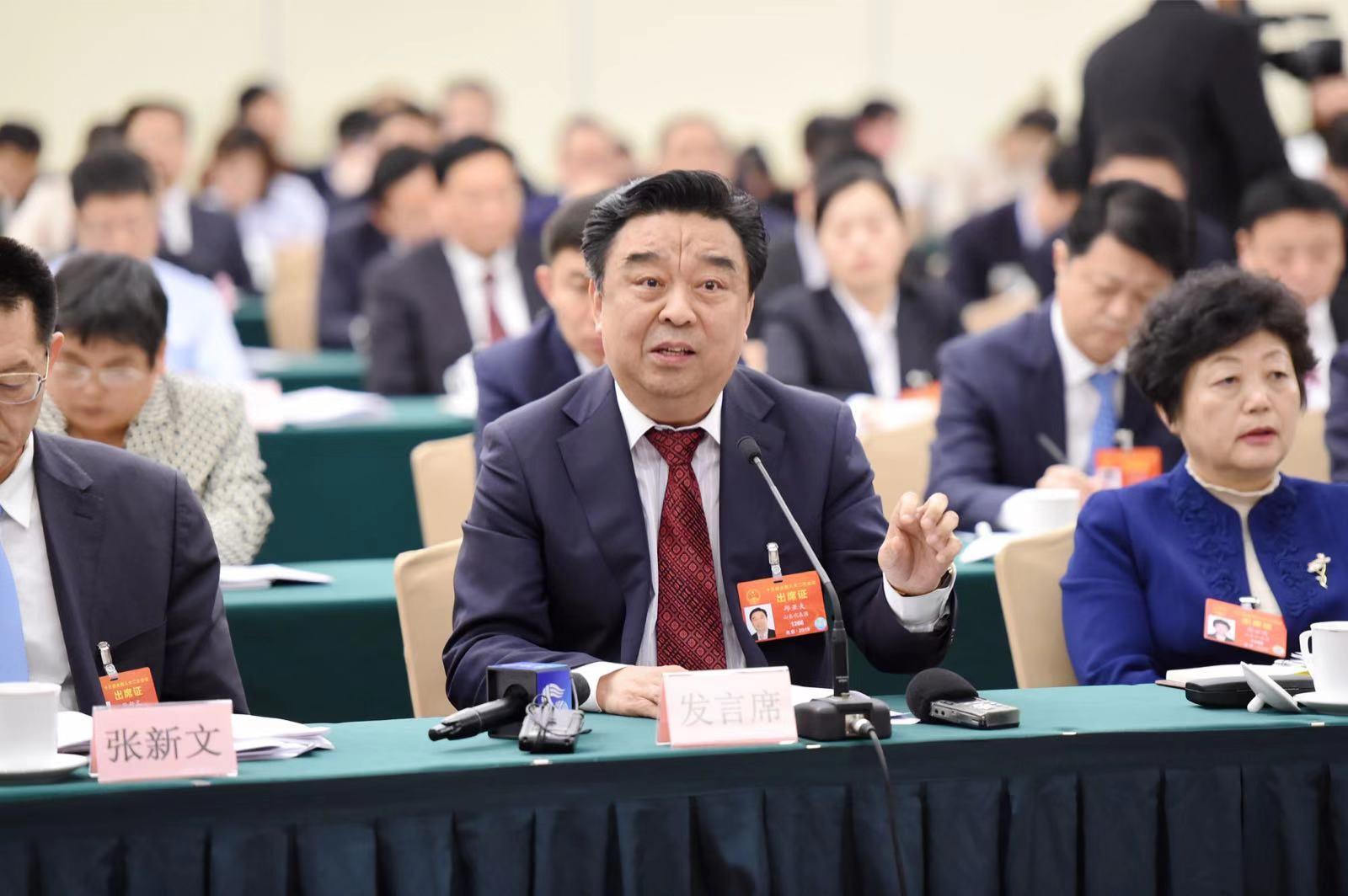 全国人大代表邱亚夫:以创新驱动新动能 加大对传统制造业改造提升