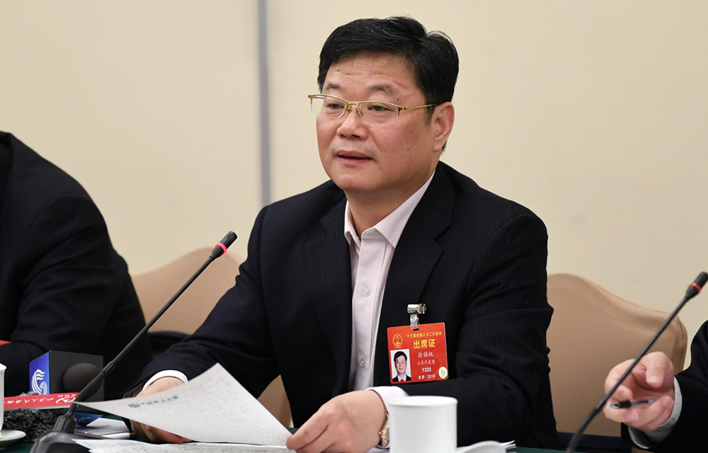 全国人大代表徐国权:政府将民生和就业放在第一位,值得点赞