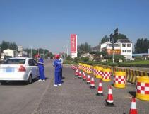 G20济青高速淄博高新区站银川方向出入口15日起封闭施工