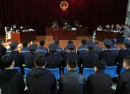 冒充成功男性诈骗女性 30人网络诈骗案在肥城公开审理
