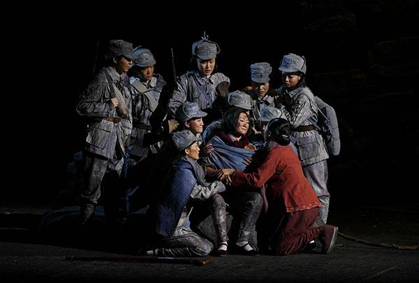 85秒|民族歌剧《沂蒙山》北京震撼上演 用音乐讲述中国故事