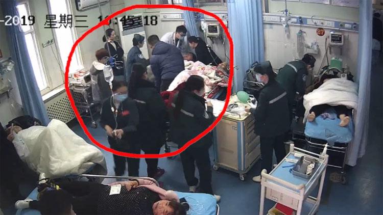 """28秒丨""""吹口气 抬高腿""""滨州一心律失常患者5秒得救助"""