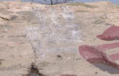 """74秒丨""""熊孩子""""在泰山景区石刻处涂鸦 孩子父亲写信道歉"""