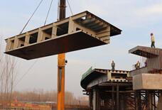喜讯!京沪高速公路改扩建工程首座钢箱梁顺利合拢