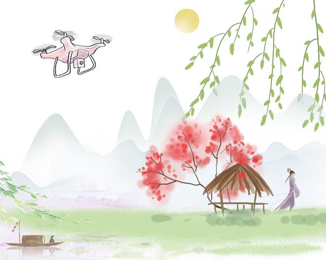 众筹拉长(chang)!这是一幅不断长(zhang)长(chang)的春天长卷