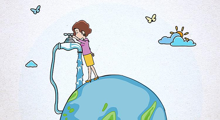 世界水日公益广告丨守护绿水青山 荫泽子孙后代