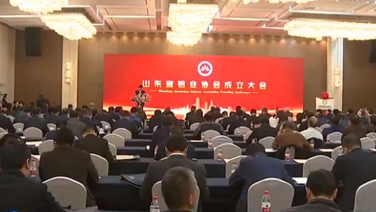 """山东省铝业协会在邹平成立 全力打造""""山东铝业""""品牌"""