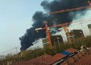 邹平一工厂车间发生火灾 未造成人员伤亡