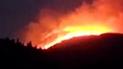 29秒丨突发!济南历城区狼窝顶发生山火 目前明火已被扑灭