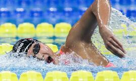 王简嘉禾破亚洲纪录夺冠 2019全国游泳冠军赛精彩图集