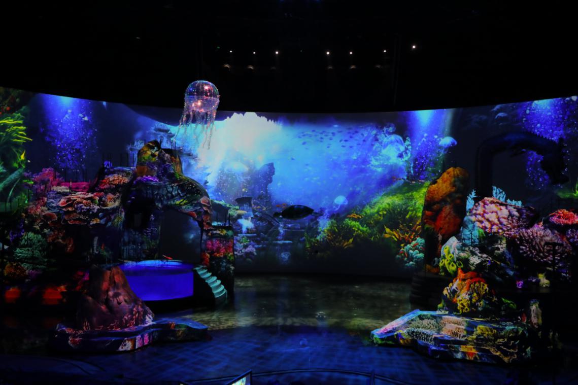 东方影都再有大动作:山东首台大型高科技舞台演艺水秀《八仙》4月29日上演