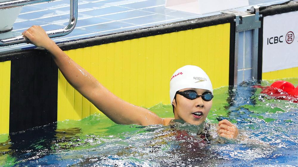4金10银8铜 全国游泳冠军赛山东泳将获历史最好成绩