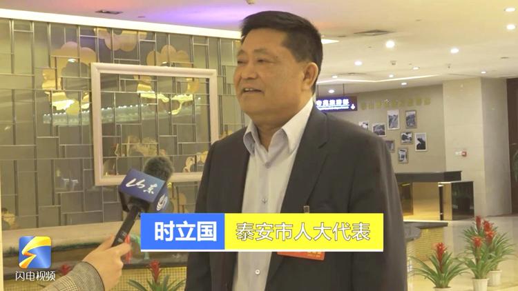 46秒|泰安市人大代表時立國:長期整治旅游秩序 全面提升游客舒適度