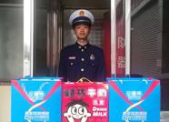 """济南消防收到匿名暖心外卖 留纸条""""愿每次出警都平安回来"""""""
