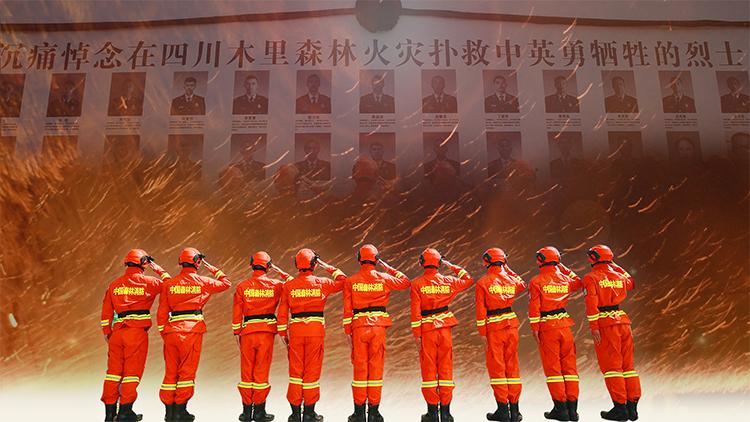 笑脸墙上的人走了一半!扑救木里森林火灾牺牲烈士战友这样说…