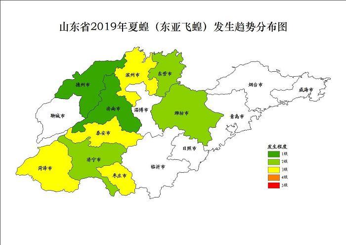 2019年山东东亚飞蝗夏蝗或中等发生 发生面积约235万亩