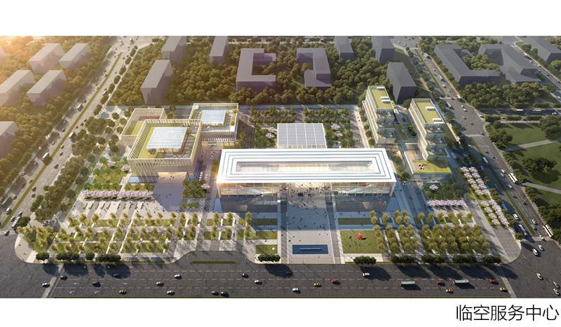 总投资38亿元 青岛胶东临空经济示范区一批大项目开工建设