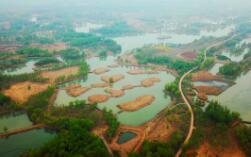 飞吧山东|济南西国家湿地公园雨后竟然这么美,五一等你来
