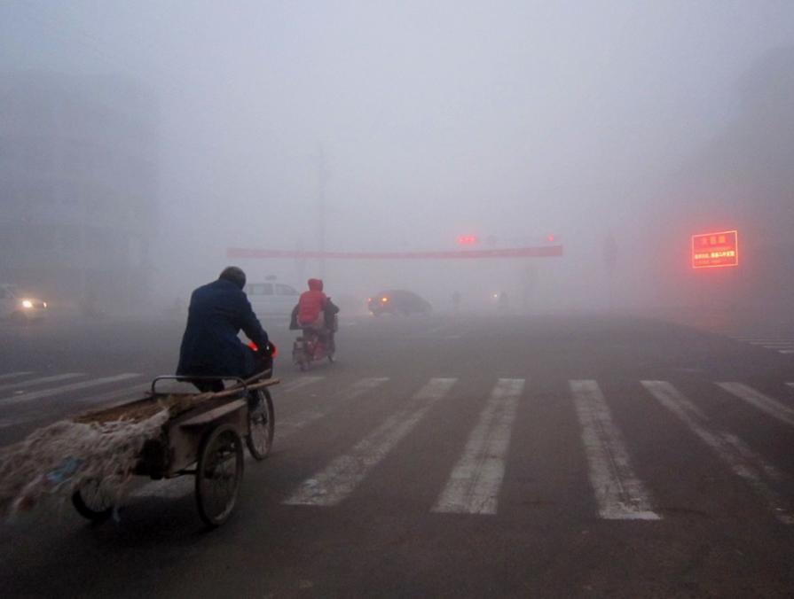 海丽气象吧丨潍坊临朐诸城等地发布大雾预警 空气质量重度污染
