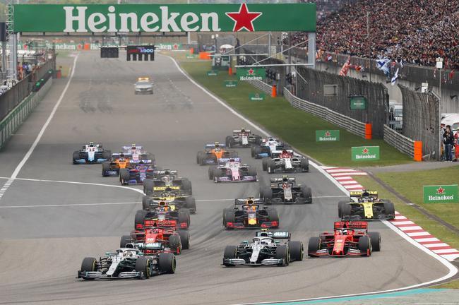 F1第1000场分站上海收官 汉密尔顿夺冠创历史