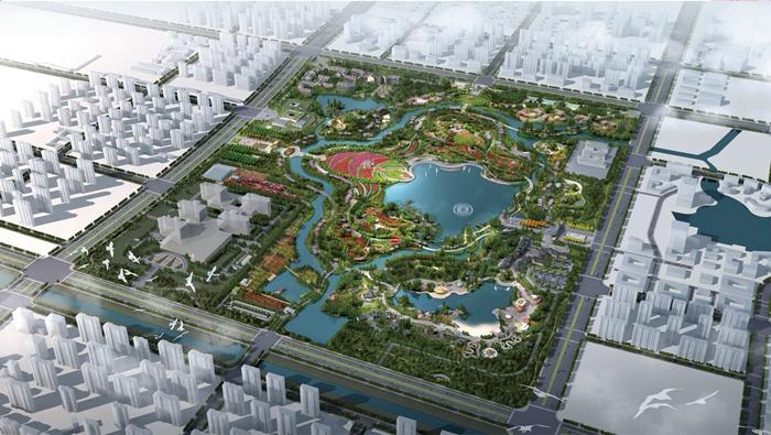 32秒|聊城九州洼月季公园将于五一正式对外开放
