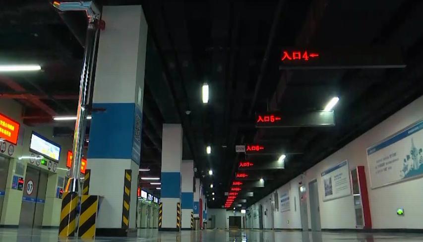 全国最大智能停车场在济南启用 记者实地探访看它有多方便