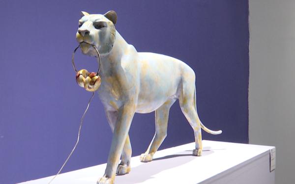 """组图丨""""和·国际当代艺术邀请展""""亮相潍坊 共展出来自5个国家的200余件作品"""