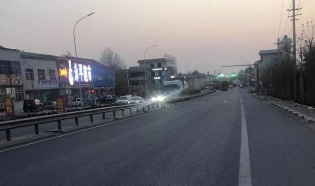 昌乐马宋桥附近这段路事故高发 驾驶员应注意安全驾驶