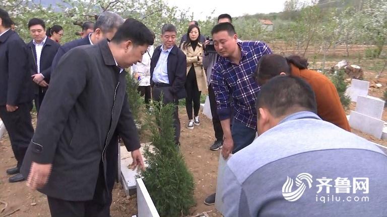 沂源被曝光墓碑质量差 民政厅:半月内解决