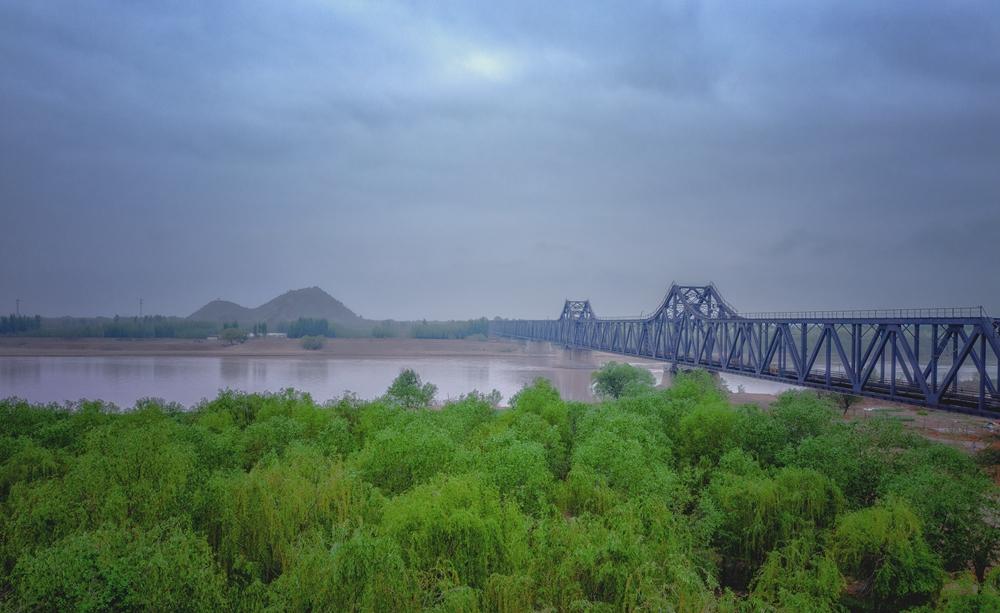 100秒|瞰百年黄河大桥 曾由詹天佑选址 至今仍在使用