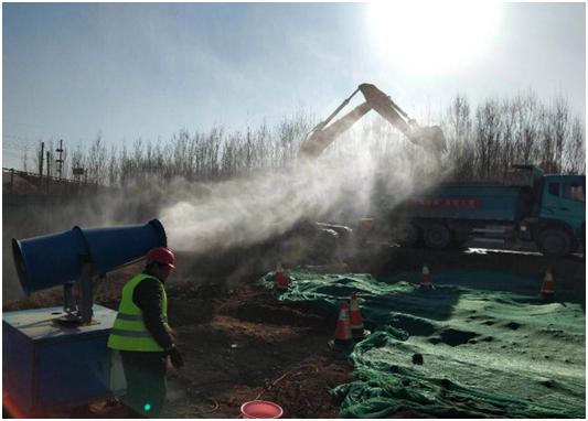 济南发布3月份建设工地扬尘挂牌结果 :这些工地被挂红牌
