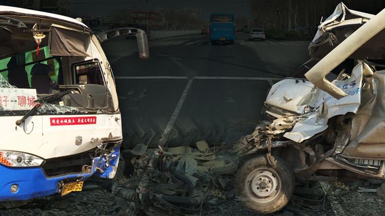 57秒丨聊城老司机一个小动作致3死26伤 惨剧背后挖出更多漏洞