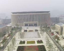 41秒丨济南超算中心园区绿化工程完工 进入养护阶段