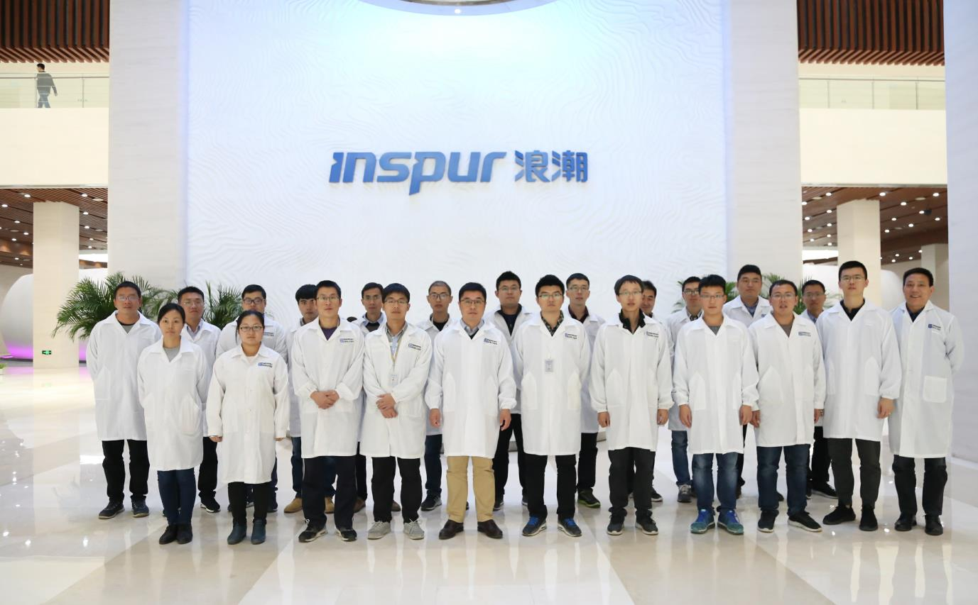"""浪潮AI服务器研发团队获评""""青春担当好团队"""": 中国AI计算力驱动全球信息化科技变革"""