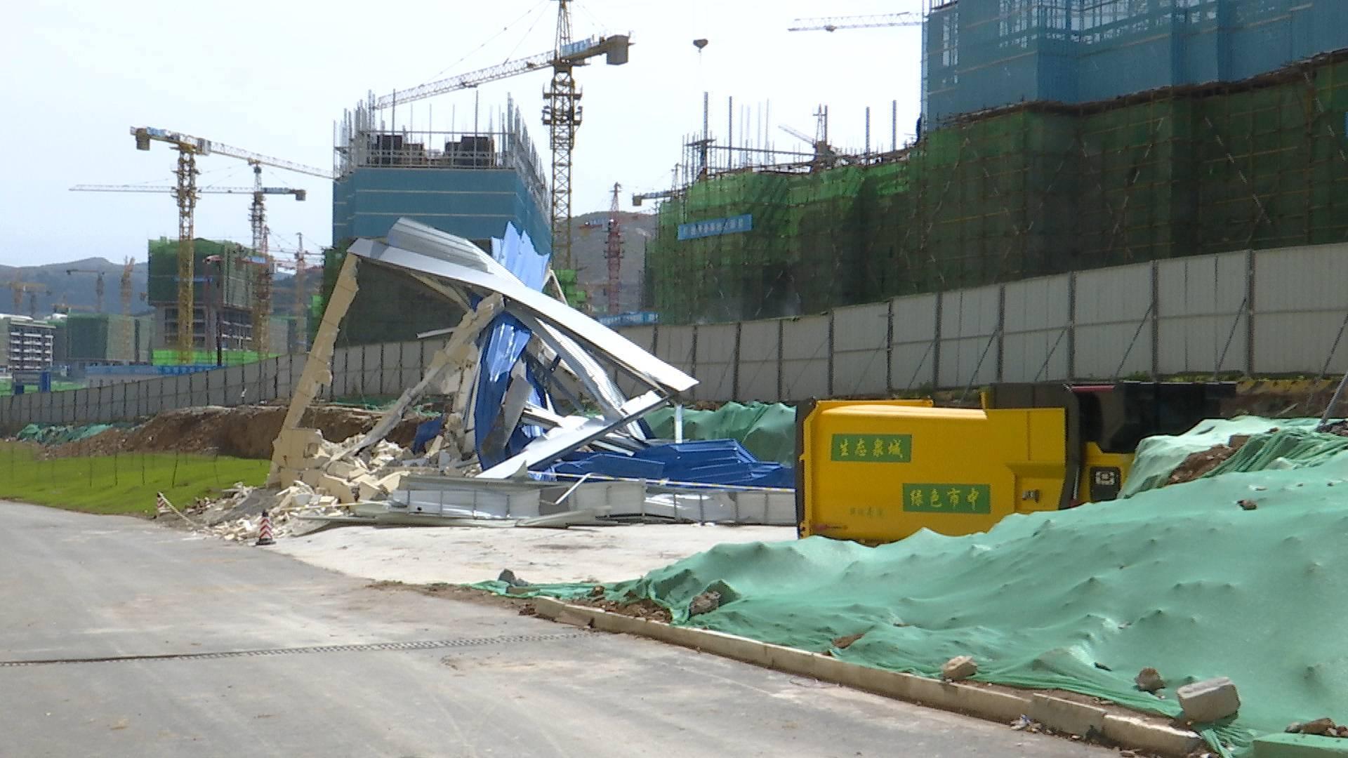 济南华润紫云府垃圾中转站距居民楼仅十余米 涉及违建已拆除