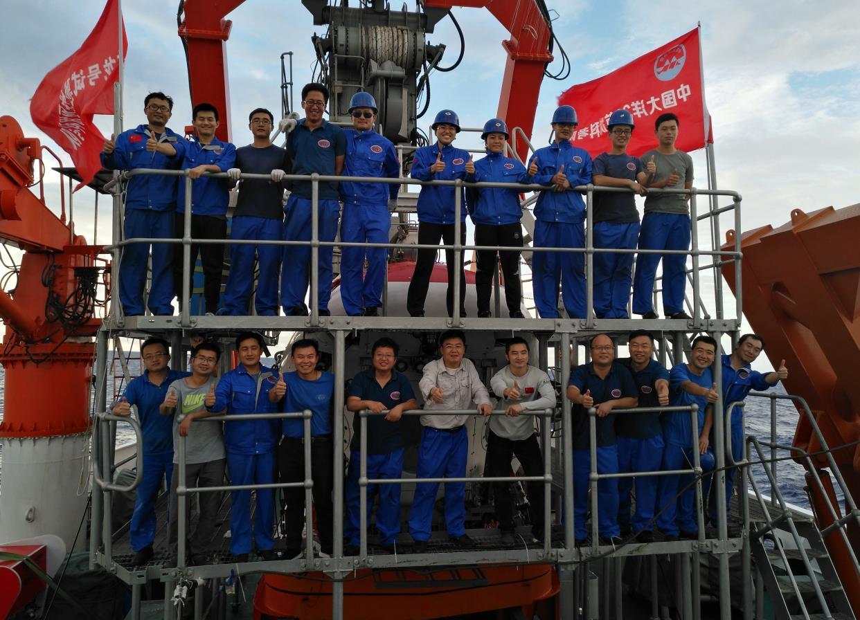 """载人潜水器技术保障团队获评""""青春担当好团队"""":用青春承担使命,尽责任铸就辉煌"""
