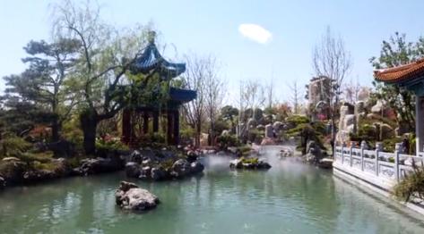 大美北京蓝搭配世园会!30秒延时摄影告诉你这些园林有多美