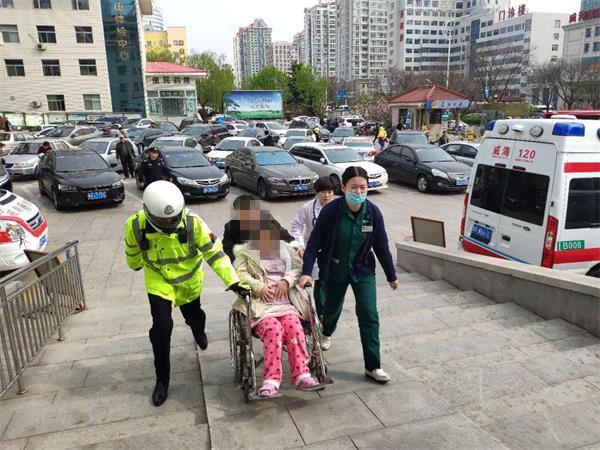 8分钟护送!孕妇羊水破裂送医遭遇早高峰,威海交警开辟绿色通道