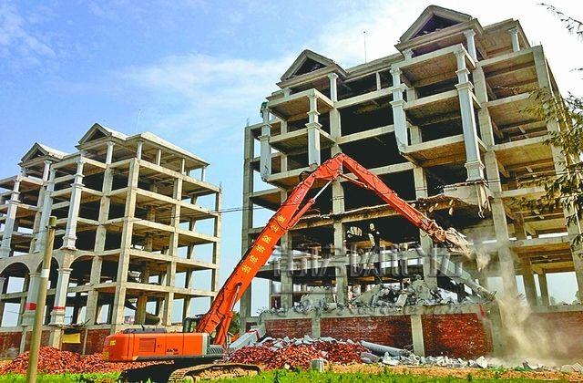 2019年3-4月份潍坊共拆除842处违建 高密拆除数量最多