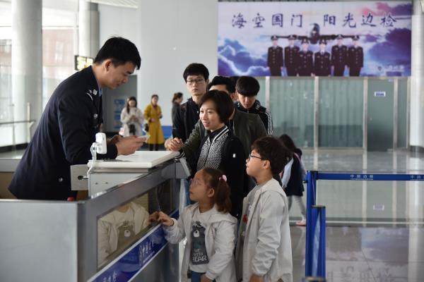 威海直飞韩国大邱航线今天开通