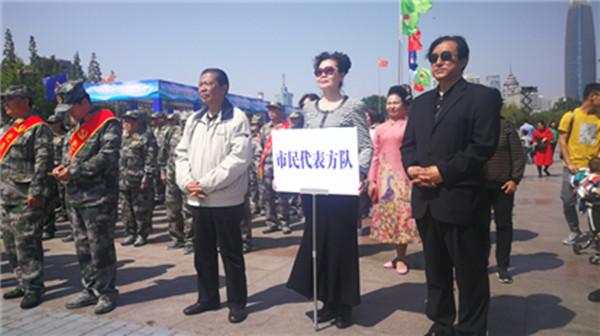 济南市第21次防空警报试鸣日活动 首次邀请市民代表出席