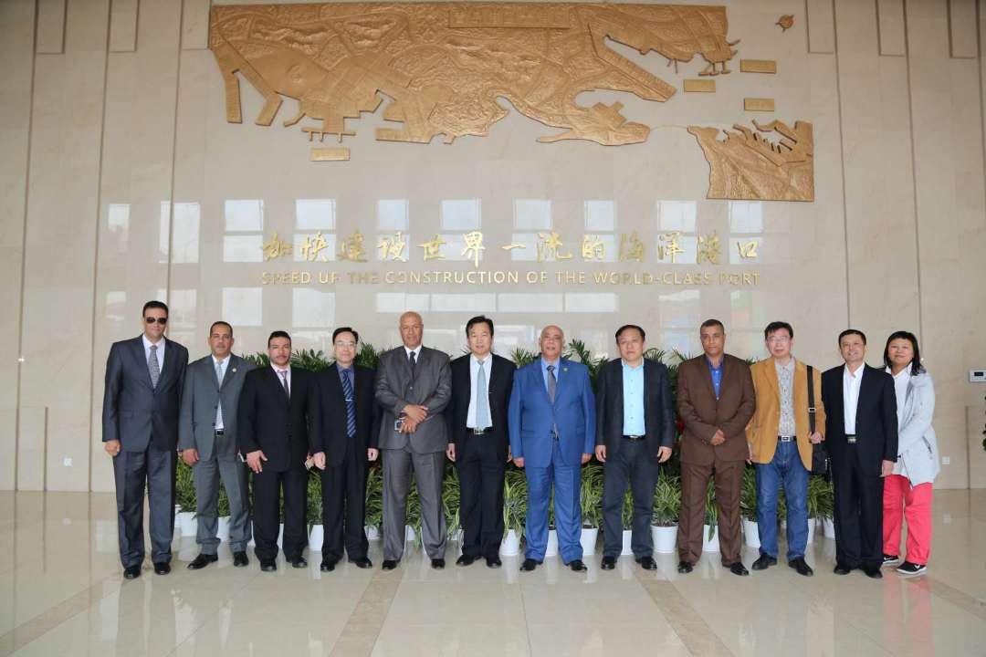 埃及海员工会代表团到访青岛进行工作交流