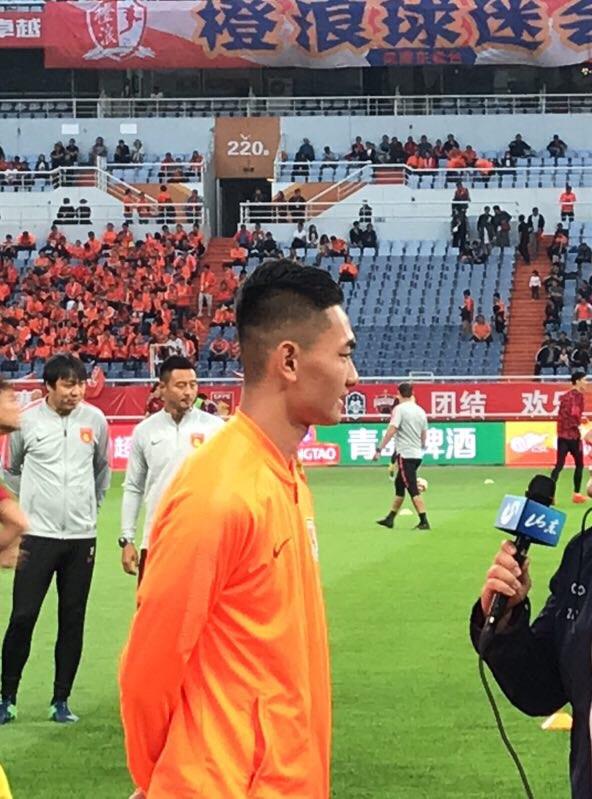 迎战华夏赛前,鲁能99小将刘超阳说出一番心里话