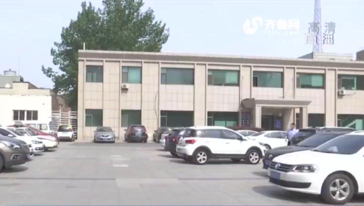 """青岛:外地车肇事逃逸后竟然""""躲""""在交警队门口"""