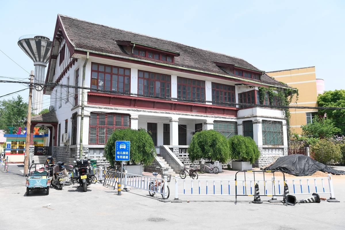 拾城丨这里曾见证山东首个工会成立 百年后德国老建筑五金件仍在使用