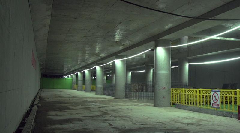台东站主体结构封顶 青岛地铁2号线西段开通运营进入倒计时