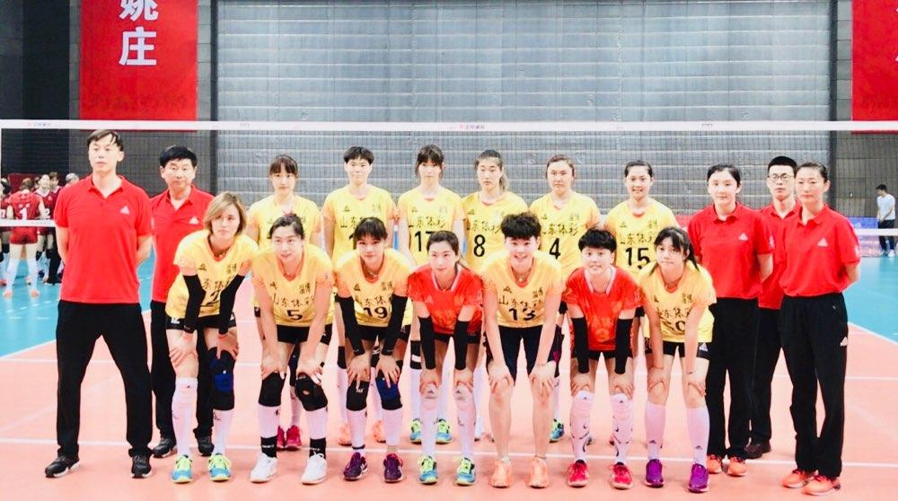 2019全国女排冠军赛浙江开打 山东队3-0河北队取得开门红