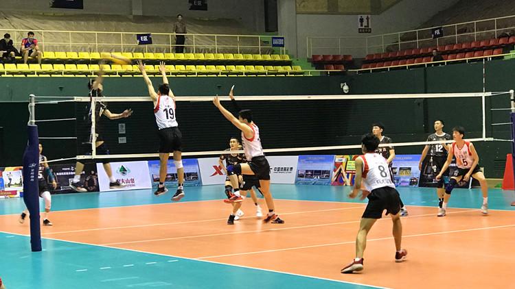 全国男排冠军赛第三轮:山东队2-3八一遭遇首败